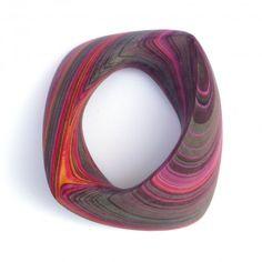 """Bracelet Witch Hazel"" by Susanne Holzinger :: featured in ""500 Paper Objects"" Lark Crafts"