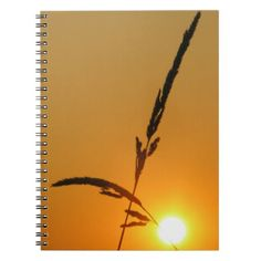 Paper Notebook Sunset' - photography gifts diy custom unique special