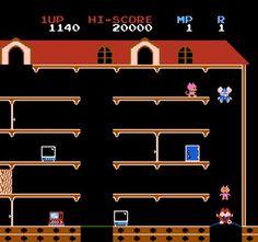 Mappy. FAVORITE joystick game!