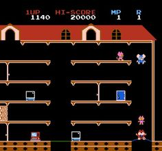 Mappy. FAVORITE joystick game!