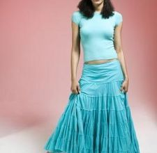 How to sew a multi-tiered broomstick skirt