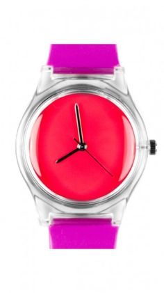 brightly colored watch