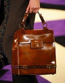 Fashion Style: Fashion Week Handbags: Prada Fall 2012