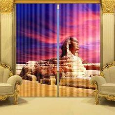 rideaux egyptien