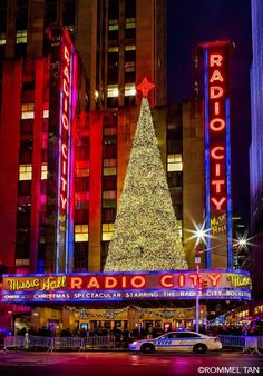 Radio City Music Hall Christmas Tree by Rommel Tan @rtanphoto by newyorkcityfeelings.com - The Best Photos and Videos of New York City including the Statue of Liberty Brooklyn Bridge Central Park Empire State Building Chrysler Building and other popular New York places and attractions.