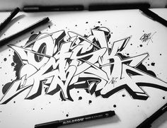 Graffiti: Element of the Culture Graffiti Images, Graffiti Piece, Graffiti Tattoo, Best Graffiti, Graffiti Artwork, Graffiti Styles, Street Art Graffiti, Graffiti Lettering Alphabet, Graffiti Writing