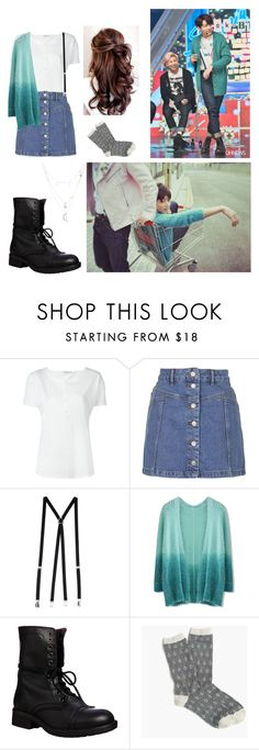 """""""BTS-jungkook: run inspired"""" by worldwarwoozi ❤ liked on Polyvore featuring Closed, Topshop, American Apparel, Chicwish, Steve Madden, J.Crew and Charlotte Russe"""
