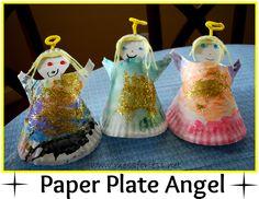 Paper Plate Angel.
