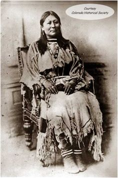 Chipeta (1843/1844-1924) was a Ute Native America woman who lived through a tumultuous period in Colorado's early history. As the wife of Chief Ouray of the Uncompahgre Ute, Chipeta was his valued advisor & often sat beside her husband during tribal  consul meetings. She frequently used her influence to help seek peace with white settlers in Colorado.