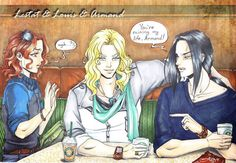 Lestat and Louis and Armand