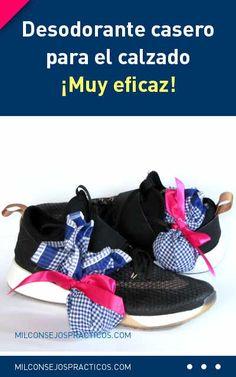 Desodorante casero para el calzado, ¡muy eficaz!  #desodorante #calzados #zapatos #malolor #diy