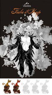 Fiaba il Mago ~ Il Bianco ... Il Nero. Emozioni di una musa