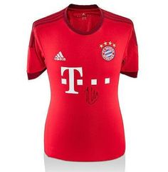 01a3978f6a6 Xabi Alonso Signed Jersey - Bayern Munich Shirt 2015 16 Home - Autographed  Soccer Jerseys   Check this awesome product by going to the link at the  image.