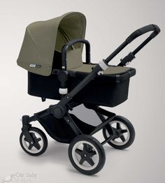 Bugaboo Buffalo dark khaki black. just ordered this baby