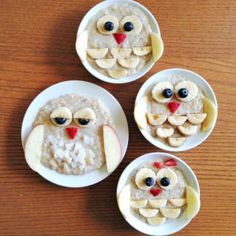 owl mommy and me oatmeal