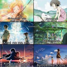Watching these movies! Sad Anime, Otaku Anime, Anime Love, Manga Anime, Kimi No Na Wa, Noragami, Best Animes To Watch, Touka Wallpaper, Anime Reccomendations