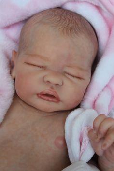 Reborn ~ Life like baby doll www.newbornlovenursery.blogspot.com