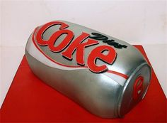 Diet Coke Can Cake Diet Coke Cake, Coca Cola Party, 18th Birthday Party, Birthday Ideas, Cola Cake, Cute Baby Boy Outfits, Cake Board, Cake Gallery, Themed Cakes