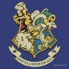 pokemon hogwarts logo