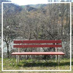 #panchina lungo il #fiume #santerno a #borgotossignano