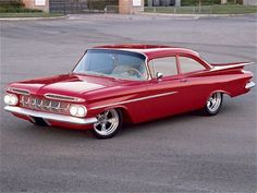 1959 Chevy Bel Air Custom, My brother Robert owned a white one with gray pin strips.