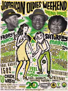 We're going back to Chicago for another Jamaican Oldies Weekend, brought to you by Jump Up Records! March 1st-2nd at Mayne Stage in the Rogers Park neighborhood, there is another terrific lineup of legendary Jamaican artists paired with modern American ska, reggae, and rocksteady bands to celebrate 20 years of Jump Up. Friday, March 1st…