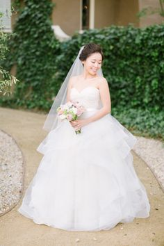 Beautiful ballgowns fit for a princess bride: http://www.stylemepretty.com/2016/01/23/princess-ballgown-wedding-dress/