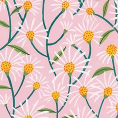 Happy days 🌞✨ floral pattern available in the latest issue of Floral Illustrations, Surface Pattern Design, Abstract Print, Happy Day, Illustrators, Print Design, Doodles, Tapestry, Creative