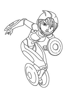 31 Best Coloring Pages Big Hero 6 Images On Pinterest