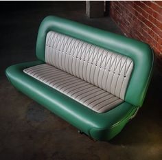 Painting For Home Decoration Ford Interior, Custom Car Interior, Truck Interior, Car Interior Upholstery, Automotive Upholstery, 57 Chevy Trucks, Chevy Pickups, Chevy 3100, Motorcycle Seats