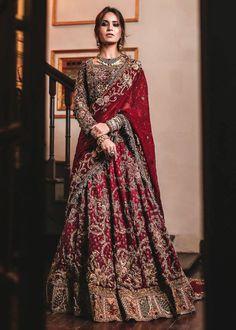 Asian Bridal Dresses, Asian Wedding Dress, Indian Bridal Outfits, Pakistani Bridal Dresses, Pakistani Wedding Dresses, Wedding Hijab, Wedding Lehenga Designs, Shadi Dresses, Bridal Lehenga Collection