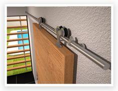 Sistemas para puertas corredizas - Herrajes Jako