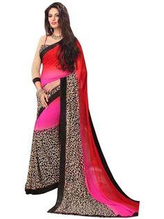 LadyIndia.com # Sarees, Woman's Cotton Silk Saree - Designer Casual Sarees, Printed Sarees, Casual Sarees, Formal Sarees, Office Wear, Sarees, https://ladyindia.com/collections/ethnic-wear/products/womans-cotton-silk-saree-designer-casual-sarees