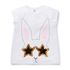 Shop now: Girl's Bunny Tee. #seedheritage #seedteen