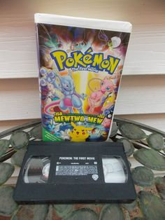 Pokemon the First Movie: Mewtwo Strikes Back (VHS, 2000, Clamshell)