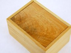 Figured Maple Jewelry Keepsake Treasure Wood Box by petersugars, $43.00