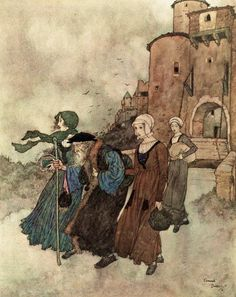 The Alchemist; The Wind's Tale - Stories from Hans Andersen by Hans Christian Andersen, 1911