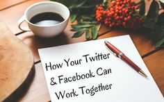 Synergize your social media profiles.