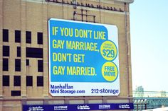 awesome ad in NYC