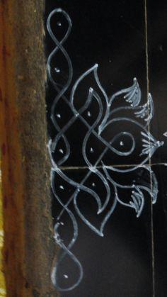 Indian Rangoli Designs, Rangoli Border Designs, Rangoli Ideas, Rangoli Designs Images, Rangoli Designs With Dots, Rangoli With Dots, Beautiful Rangoli Designs, Rangoli Borders, Kolam Rangoli