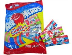 Bite into one of these mini Air Heads, and your mouth is filled with delicious sensations of multiple tastes at the same time!