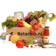 BETERBIO.NL Een pakket boordevol groente en fruit. De inhoud wisselt wekelijks en is daardoor altijd verrassend, lokaal, van het seizoen, en vooral superlekker. Er zijn 8 verschillende pakketten om uit te kiezen, en je kunt deze wekelijks of om de week laten bezorgen. Bezorging is gratis!