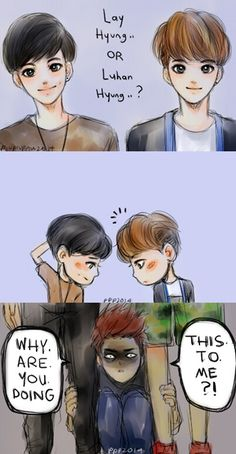 EXO Fanart - that is the question haha