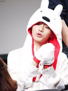 #BTS AHH OMG TaeTae is so cute <3 :3