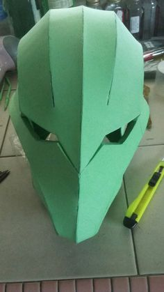 Cosplay Armor, Cosplay Diy, Halloween Cosplay, Cosplay Costumes, Helmet Design, Mask Design, Deathstroke Costume, Bloodborne Cosplay, 3d Printed Mask