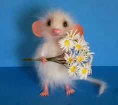 КотоФЕЯ (catfairy) - Photo from album Needle Felted Animals, Felt Animals, Cute Baby Animals, Funny Animals, Happy Name Day, Happy B Day, Felt Mouse, Felt Cat, Happy Birthday Pictures