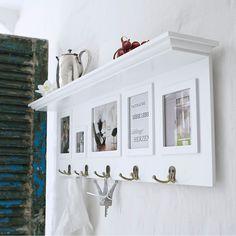 Wandgarderobe, Weiß, Garderobe Weiss, Landhaus