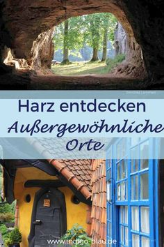 Incredible places in the Harz Unglaubliche Orte im Harz Find unusual places in the Harz Mountains www. Medan, Best Places To Travel, Places To Visit, Travel Tips, Travel Destinations, Voyage Canada, Voyage Bali, Voyage New York, Voyage Europe