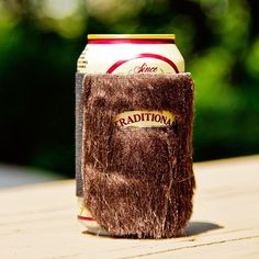 Fab.com | Manly Beer Can Cozies.  Yeah, I'm too late!  Beerd cozies already exist!!