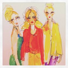 Blair Breitenstein. Makes me miss the fashion illustration days...